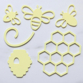 Sweet Stamp - Oh Honey Bee silhouettes Elements