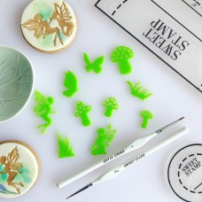 Sweet Stamp - Enchanted Garden silhouettes Elements