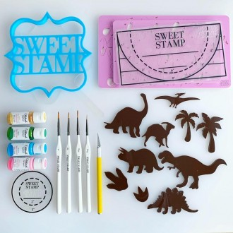 Sweet Stamp - Dinosaur Elements