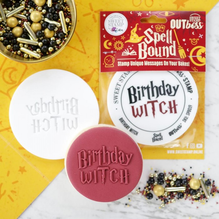 OUTboss™ Spell Bound  - Birthday Witch