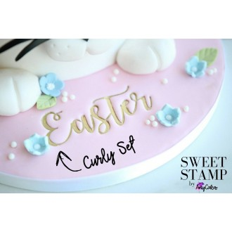 Sweet Stamp - Curly Set  (LARGE)