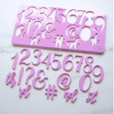 Sweet Stamp - Elegant Set Numbers