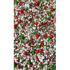MERRY EVERYTHING Sprinkle Medley from Sweetapolita 4oz Bottle (1/2 cup/NET WT 3.5oz/100g)