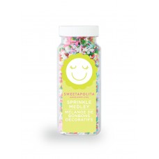 PASS THE PARCEL Sprinkle Medley from Sweetapolita 4oz Bottle (1/2 cup/NET WT 3.5oz/100g)
