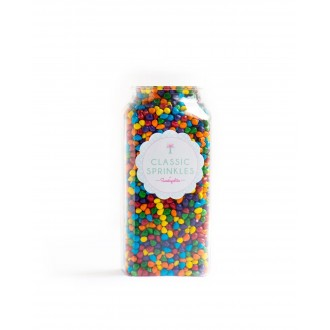 Rainbow Bit Chips Sprinkles™ from Sweetapolita 4oz Bottle (1/2 cup/NET WT 3.5oz/100g)  Gluten-Free, Vegetarian & Vegan