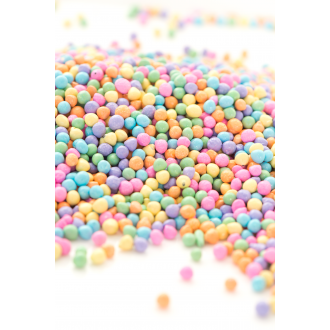PASTEL Bit Chips Sprinkles™ from Sweetapolita 4oz Bottle (1/2 cup/NET WT 3.5oz/100g)  Gluten-Free, Vegetarian & Vegan
