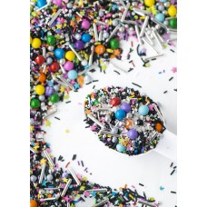 GLAM ROCK  Twinkle Sprinkle Medley from Sweetapolita 4oz Bottle (1/2 cup/NET WT 3.5oz/100g)