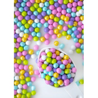 SPRING HAS SPRUNG Candy-Coated Chocolate from Sweetapolita 4oz Bottle (1/2 cup/NET WT 3.5oz/100g)  Gluten-Free, Vegetarian & Kosher