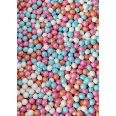 SUMMER DAYS Candy-Coated Chocolate from Sweetapolita 4oz Bottle (1/2 cup/NET WT 3.5oz/100g)  Gluten-Free, Vegetarian & Kosher