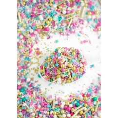 50 SHADES OF YAY Twinkle Sprinkle Medley from Sweetapolita 4oz Bottle (1/2 cup/NET WT 3.5oz/100g)