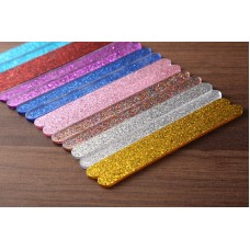 """Acrylic Sticks for Popsicle or Cake Sicle 4-1/2"""" (Package of 10) Shiny Blue"""