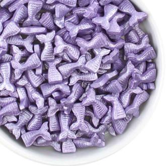 Shaped Sprinkles - Teal mermaid Purple