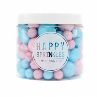 Happy Sprinkles Pearlescent Girl or Boy!? Choco Crunch Sprinkles  (Mix)