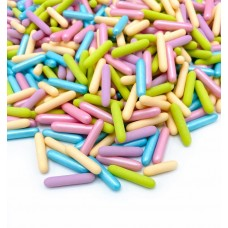Happy Sprinkles Pearlescent Party Rod Sprinkles  (90gr)
