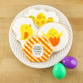 Easter Cookie Confection Collection Cookie Stencil