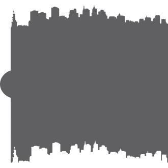 NYC Skyline Cookie Stencil Edger