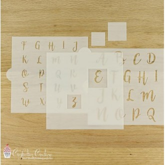 Isolation Masking Tool for Alphabet Cookie Stencil Sets