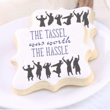 Tassel Was Worth the Hassle Cookie Stencil