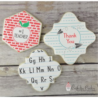 Teacher Appreciation Cookie Confection Collection (6)