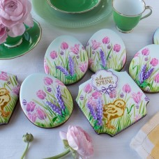 Easter Greetings  Cookie Stencil 3 Pc Set