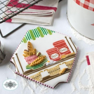 Live Sweetly Dynamic Duos Cookie Stencil Set  7 Pc Set