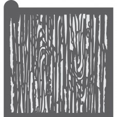 Wood Grain Dynamic Duos Background Cookie Stencil