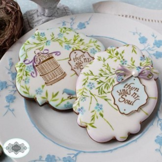 Song of Spring Dynamic Duos Cookie Stencil Set