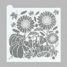 Autumn Harvest Prettier Plaques Cookie Stencil 5 Pc Set