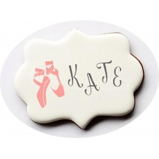 Ballerina Accent Cookie Stencil