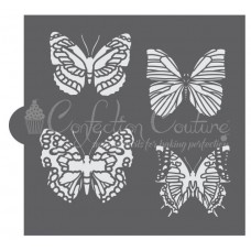 Butterflies Accent Cookie Stencil