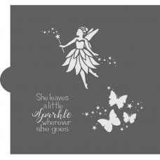 Fairy Dust Cookie Stencil