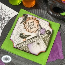 Home Spooky Home Dynamic Duos Cookie Stencil Set  8 Pc Set
