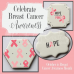 Breast Cancer Accent Cookie Stencil
