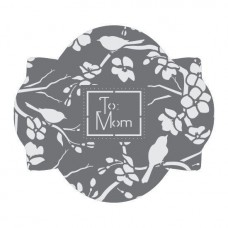 To Mom Wishes Prettier Plaques Cookie Stencil 5 Pc Set