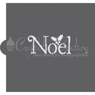 Noel Cookie Stencil