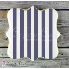 Thick Stripe Background Cookie Stencil