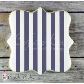 Thick Stripe Background Cookie Stencil