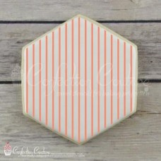 Thin Stripe Background Cookie Stencil
