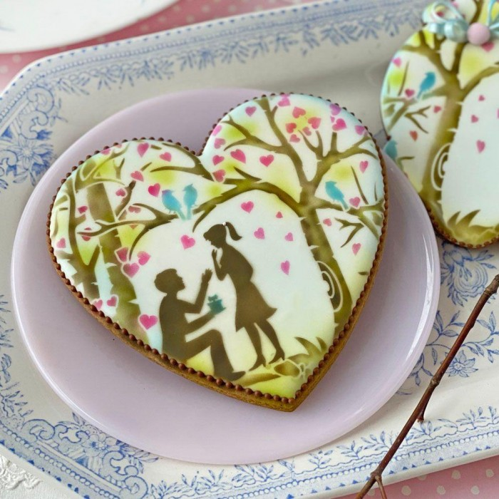Sweethearts Dynamic Duos Background Set