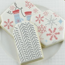 Nordic Lodge Cookie Confection Collection (6)