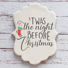 The Night Before Christmas Cookie Stencil