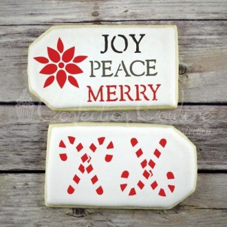 Holiday Trinkets Accent Cookie Stencil