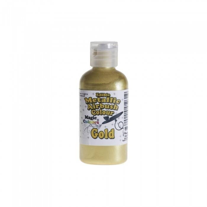 Metallic Airbrush Colours - 55ml Gold