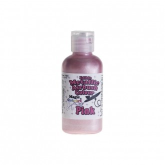 Metallic Airbrush Colours - 55ml Pink