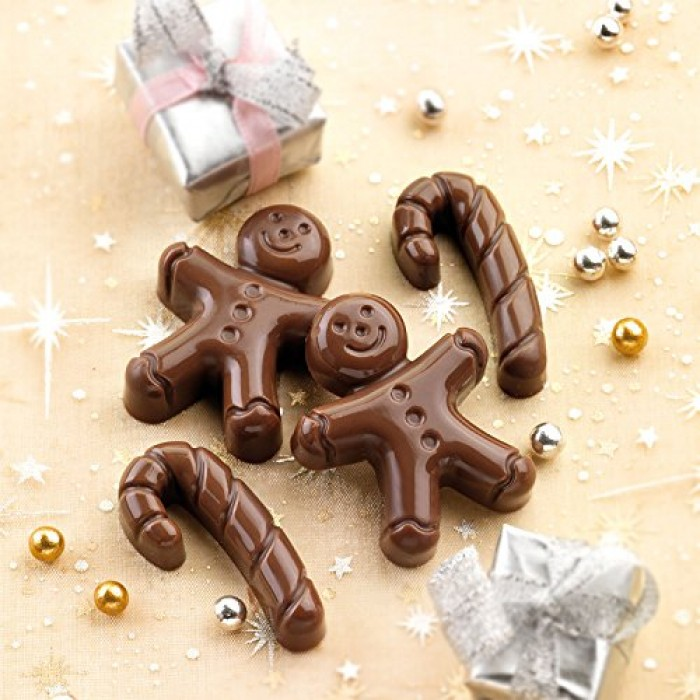 Silicone Mold for Gingerbread Men