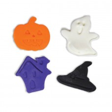 Halloween Fondant and Pie Cutter Plunger Set (4 pc)