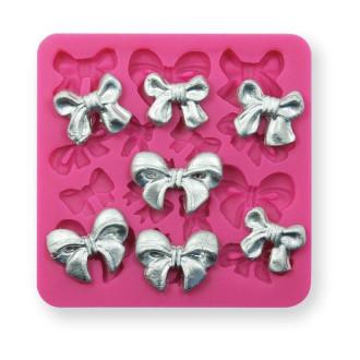 Bowknots (Delicate) Silicone Mold (mini)