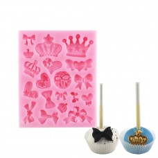 Royal Crowns & Bows Silicone Mold