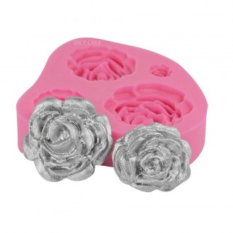Blooming Roses Silicone Mold