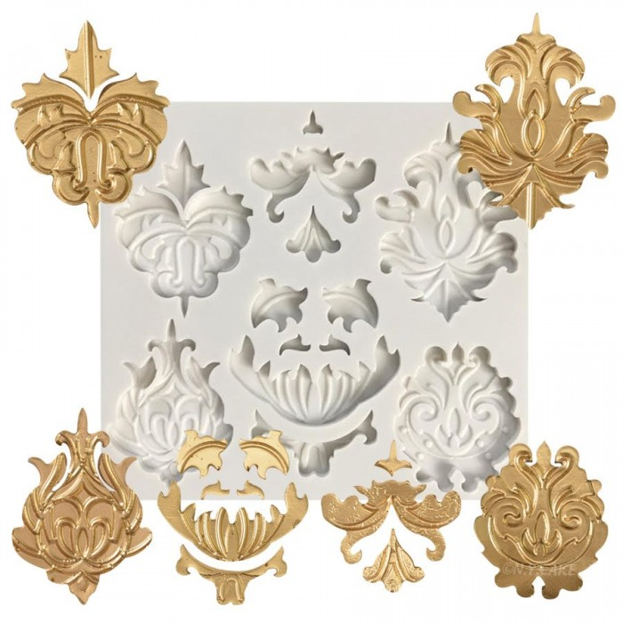 Medallions & Trims Silicone Mold